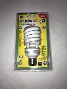 "GE 15517 ""energy Smart"" Spiral Fluorescent Bulb Soft White 26W = 100W"