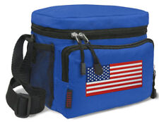 USA Lunch Bag Tote BEST USA Lunch Box Cooler WELL MADE!