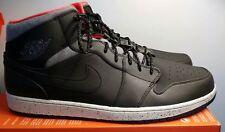 Nike Air Jordan 1 Mid Sz 18 DS Black Grey Infrared 811124-035