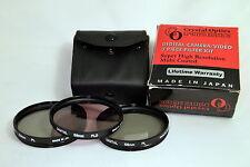 CO Digital 58mm UV+PL+FLD Lens Filter Kit (PL is Defected) Japan O105033