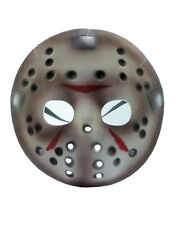 Friday The 13th Costume Accessory, Mens Jason Voorhees Half Hockey Mask, Age 17+