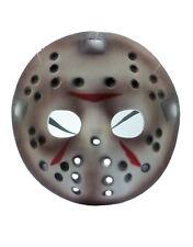 Friday The 13th Traje Accesorio, Para Hombre Jason Voorhees media máscara de hockey, edad 17+