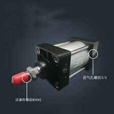 SC160-125 Bore: 160mm Stroke: 125mm Single Thread Rod Dual Action Air Cylinder
