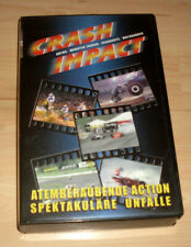 VHS Film - Crash Impact - Atemberaubende Action - Speck. Unfälle - Videokassette