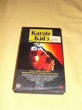 Karaté Kid 3 VHS Ralph Macchio Pat Morita Arts martiaux