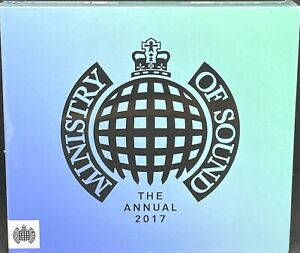 MINISTRY OF SOUND - THE ANNUAL 2017, VARIOUS, TRIPLE CD ALBUM, (2016) *NEW*