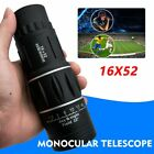High Power HD Monocular Telescopes 16X52 Binoculars Spyglass Night Vision 1PCS