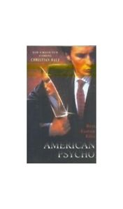American psycho Book The Cheap Fast Free Post