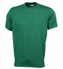 Abbigliamento da uomo verde in poliestere per palestra, fitness, corsa e yoga taglia XL