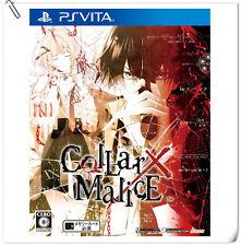 PSV Collar X Malice JPN SONY PLAYSTATION VITA Aksys Otome Games