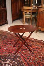 Mesa velador mesa auxiliar mesa plegable mesa picnic de nogal, lupa