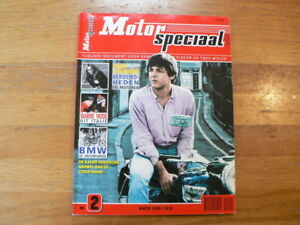 MOTOR SPECIAAL NO 2 MUSIC/MOVIE STARS BIKE,HONDA CX TURBO,ROB BRON,BMW,WALL DEAT