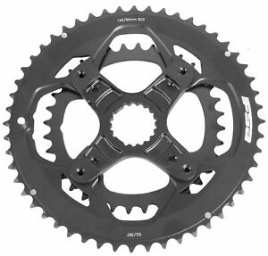 FSA Pro 4-Boit Road Double Chainring 52/36T BCD 120/90 11 Speed Cannondale Si