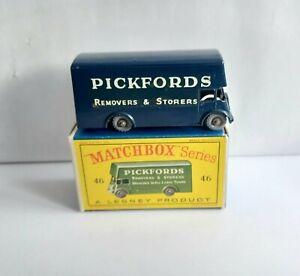 MATCHBOX 46 PICKFORDS REMOVAL.  RARE 2 LINE PROMOTIONAL