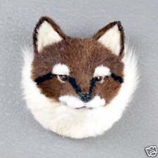 (1) Red Fox Animal Furlike Magnet. Gift Box Included. Holiday Gifts?
