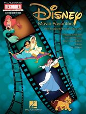 Disney Movie Favorites 9 Hits Arranged for Recorder Solo or Duet Recor 000710409