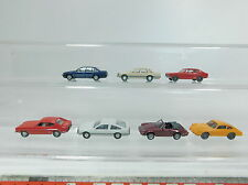 az459-0, 5 #7x Wiking H0 (1:87) Ford Capri + Porsche 911+ Opel Senator / Monza ,