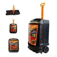New Hot Wheels 100 Car Carrying Case Matchbox Box Storage Kids