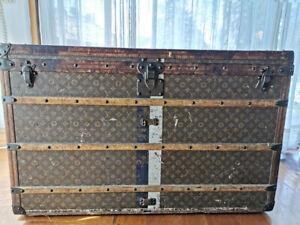 Louis Vuitton Steamer Trunk In good condition - 1900´s