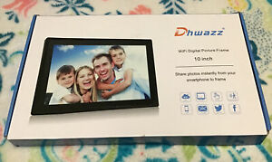 Dhwazz Digital 10 Inch WiFi Picture Frame IPS Panel, Touch Screen