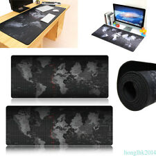 Anti-Skid Large World Map Gaming Mouse Pad Mat Mousepad fr PC Game 800*300*2 MM