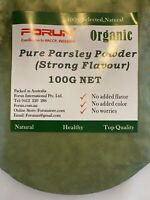 FORUN Premium Parsley Powder-Pure, Fine Powder (NW 50G/100G/200G/400G/1KG)