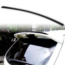 Fyralip Roof Lip Spoiler For Mazda 3 Gen 1 BK 04-09 Hatchback Unpainted Black