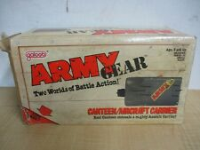 Army Gear Lewis Galoob 1988 Canteen WITH ORIGINAL BOX AIR CRAFT CARRIER