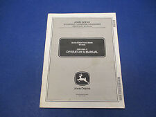 John Deere Operators Manual #OMM146400 J1 Quick-Hitch Front Blade 54-Inch M1409