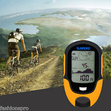 SUNROAD Outdoor Waterproof LCD Digital Compass Barometer Altimeter