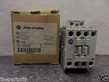 New Allen Bradley 100-C23J10 Contactor 24 Volt 60 Hz Series C 3 Poles NIB