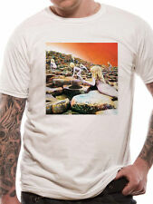 LED Zeppelin Mens T-shirt Top Licensed Merchandise White Hoth Album Cover S