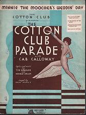 Minnie the Moocher's Wedding Day 1932 Cotton Club Parade