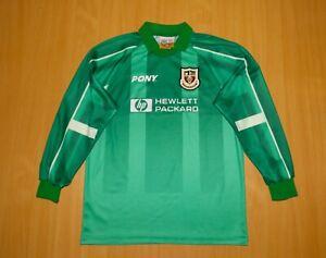 TOTTENHAM 1997 1999  Goalkeeper football shirt jersey PONY Hotspur soccer London