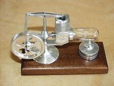 >Alu poliert< NEU HOG Stirling Heißluftmotor Stirlingmotor_Dampfmaschine NEU