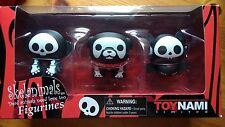 Skelanimals Vinilo Figura Triple Pack: Marcy, Max, Diego figuras 3 in (approx. 7.62 cm)