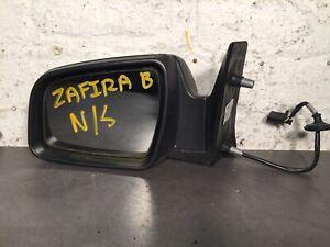 2010 VAUXHALL ZAFIRA B PASSENGER SIDE NS WING MIRROR BLACK 13312839