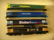 N Gauge Dapol and Other DUMMY class 66 and 3 class 66 Bodies NOT boxed