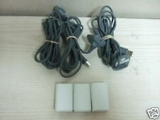 3 GENUINE XBOX 360 WIRELESS CONTROLLER BATTERY CHARGER