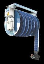 NORFI PKW Abgas Motorschlauchaufroller SET 10 m Meter - Abgasabsaugung