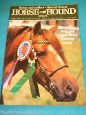 HORSE and HOUND - PONY AND ARAB BREEDING NUMBER - MARCH 22 1985