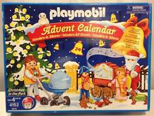 Playmobil 4152 Christmas in the Park Advent Calendar w/ Organ Grinder 96 Pieces