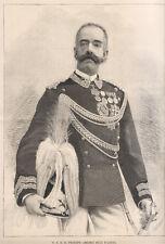 S.A.R. il principe Amedeo Duca d'Aosta; xilografia  1889