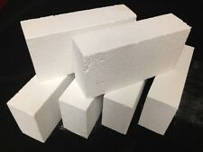 "K-26 Insulating Firebrick 9x4.5x 1.75"" IFB Fire Brick Thermal Ceramics Brick K26"