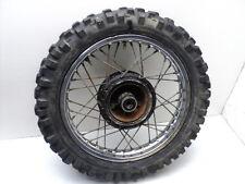 #4050 Yamaha YZ80 YZ 80 Rear Chrome Wheel & Tire