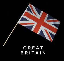 GREAT BRITAIN BRITISH UK  Hand Waver Flag - 30x45cm