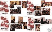 1686a-89e Bicentennial singles on Artcraft 4 FDC #2
