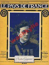 Le pays de France n°104 du 12/10/1916 Guynemer Danube Rancourt Picardie
