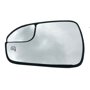 New Left Side Power Heated View Mirror Glass For 2013-20 Ford Fusion DS7Z17K707F