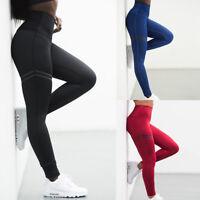Leggings Trouser High Waist Elasticity For Women Lady Running Gym Fitness Yoga
